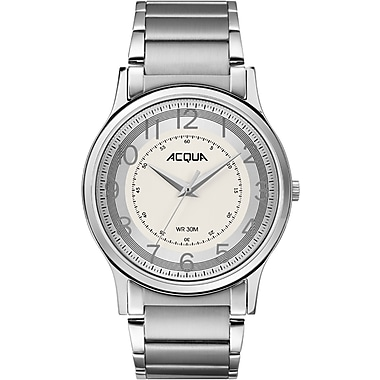 Acqua by Timex Classic Watch, 39mm, Silver (TM-AA3C7870070)