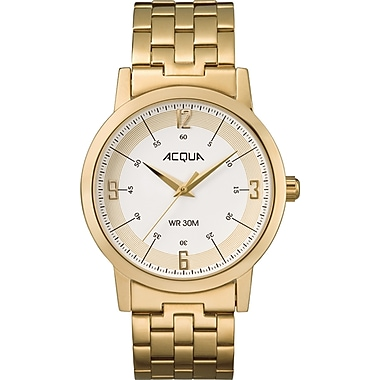 Acqua by Timex Classic Watch, 38mm, Gold (TM-AA3C7890070)
