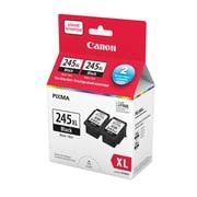 Canon - Paquet double économique d'encre noire PG-245XL (8278B010)