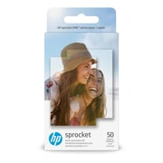 "HP ZINK 2"" x 3"" Sticky-back Photo Paper, 50 Sheet/Pack"