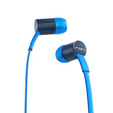 SOL REPUBLIC – Écouteurs intra-auriculaires Jax 1 bouton, bleu électrique
