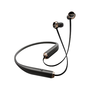 SOL REPUBLIC Shadow Wireless In-Ear Earbuds, Black/Rose Gold