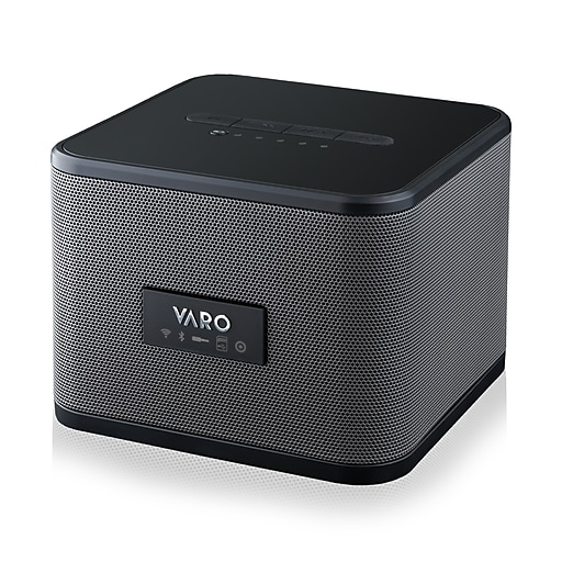 Varo Portable Wifi Bluetooth Multi Room Speaker Cube Black Ios