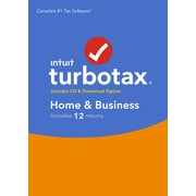 TurboTax Home & Business 2017 Bilingual, Windows