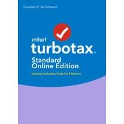 TurboTax Standard Online 8 Returns 2017, Bilingual