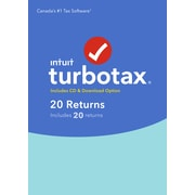 TurboTax 20 Returns 2017 Bilingual, Windows