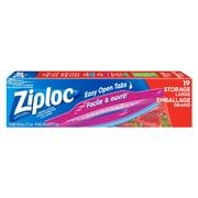 Ziploc - Sacs de rangement tout-usage à glissières doubles, grands, bte/20