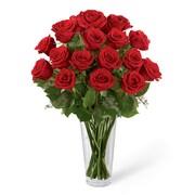Michael Adams – Bouquet Romance, 18 roses rouges