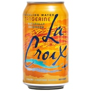 LaCroix Tangerine Sparkling Water, 12 oz Cans, Pack of 24 (NAV40106)