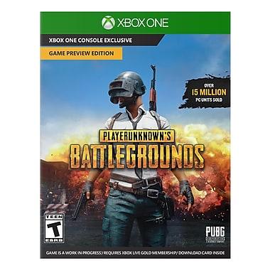 Jeu Playerunknown's Battlegrounds : Édition de l'aperçu du jeu, pour Xbox One