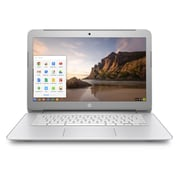 HP Chromebook N9E38UA#ABA 14-inch Chromebook, 2.16 GHz Intel Celeron N2840, 16 GB eMMC, DDR3L-1600 SDRAM, Chrome OS