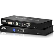 Aten® CE602 196.85' DVI Dual Link Rack-Mountable KVM Extender with Audio