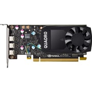 HP Quadro Graphic Card, 2 GHz Core, 2 GB GDDR5, Low-profile (1ME43AT)