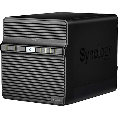 Synology Powerful Entry-level 4-bay NAS for Home Data Backup and Multimedia Streaming (DS418J)