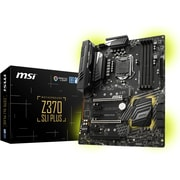 MSI Z370 SLI PLUS Desktop Motherboard, Intel Chipset, Socket H4 LGA-1151 (Z370 SLI PLUS)