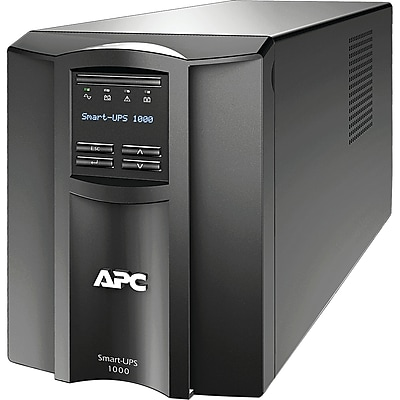 APC by Schneider Electric Smart-UPS 1000VA LCD 120V with SmartConnect (SMT1000C)