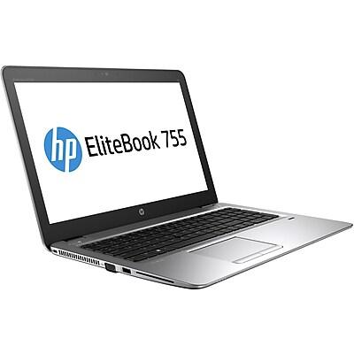 """""HP EliteBook 755 G4 15.6"""""""" LCD Notebook, AMD A-Series A10-8730B Quad-core (4 Core) 2.40 GHz, 8 GB DDR4 SDRAM, 256 GB SSD"""""" IM12CL879"