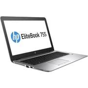 "HP EliteBook 755 G4 15.6"" LCD Notebook, AMD A-Series A10-8730B Quad-core (4 Core) 2.40 GHz, 8 GB DDR4 SDRAM, 256 GB SSD"