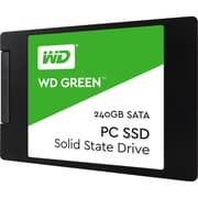 "WD Green WDS240G2G0A 240 GB 2.5"" Internal Solid State Drive, SATA (WDS240G2G0A)"