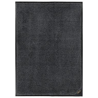Andersen Company Colourstar Plush Mat, 4' x 6', Grey (180670046590)