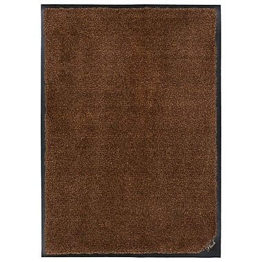 Andersen Company Colourstar Plush Mat, 3' x 5', Brown (180640035590)