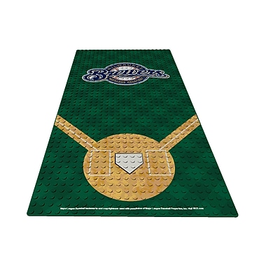OYO Sportstoys Display Plate: Milwaukee Brewers