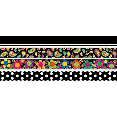 Barker Creek – Ensemble de bordure à motif graphique (SS0956)