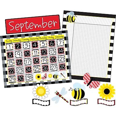 Barker Creek – Ensemble calendrier/motivation/accents à motif gros carrés (BC3588)