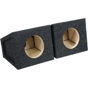 "ATREND 6.5PR BBox Series 6.5"" Single Sealed Enclosures, Pair"