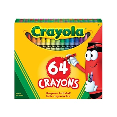 Crayola® 64-Piece Regular Crayons in Tuck Box, 12/Pack