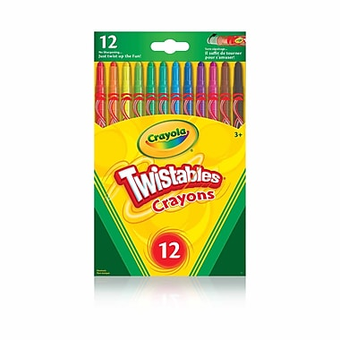 Crayola® Twistable Crayons, 12/Pack