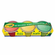 Crayola® Air Dry Clay, Assorted Colours