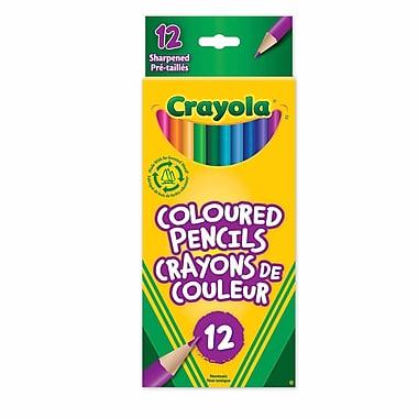 Crayola® 12-Piece Coloured Pencils, 12/Pack
