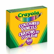 Crayola Coloured Pencils, 100/Pack