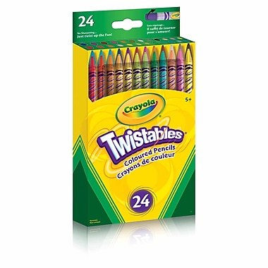 Crayola® Twistables Coloured Pencils, 12/Pack