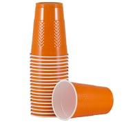 JAM Paper® Plastic Cups, 16 oz., Orange, 20/Pack (22555216or)