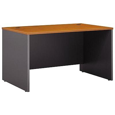 Bush Business Furniture Westfield 48W x 30D Desk, Natural Cherry (WC72448)