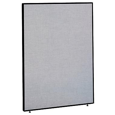 Bush Business Furniture ProPanels 66H x 48W Panel, Light Gray/Slate (PP66748)