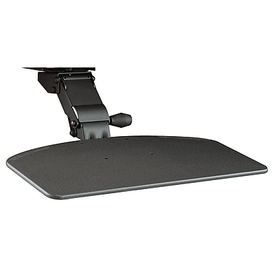 Bush Business Furniture Articulating Keyboard Tray, Galaxy