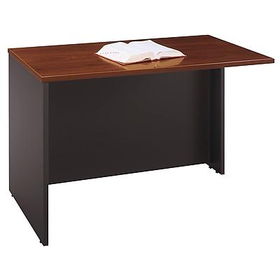 Bush Business Furniture Westfield 48W Return Bridge, Hansen Cherry/Graphite Gray (WC24424)