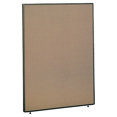 Bush Business Furniture ProPanels 66H x 48W Panel, Harvest Tan/Taupe (PP66548)