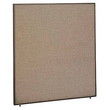 Bush Business Furniture ProPanels 66H x 60W Panel, Harvest Tan/Taupe (PP66560)
