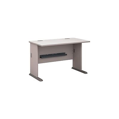 Bush Business Furniture Cubix 48W Desk, Pewter (WC14548)
