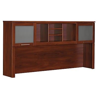 Bush Furniture Somerset 71W Hutch, Hansen Cherry (WC81711)