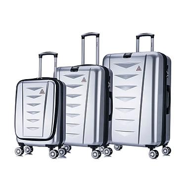 DUKAP Crypto Lightweight Hardside 3 Piece Luggage Set 20