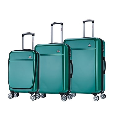 InUSA Avila Lightweight Hardside Spinner 3 Piece luggage Set 20