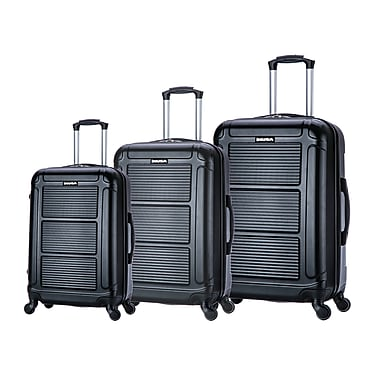 "InUSA Pilot Lightweight Hardside Spinner 3 Piece Luggage Set 20"", 24"
