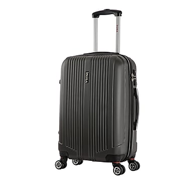 InUSA San Francisco Lightweight Hardside Spinner Luggage, Charcoal