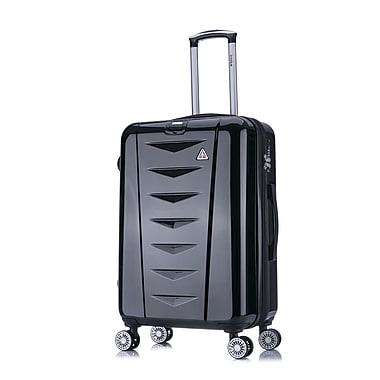 InUSA AirWorld Lightweight Hardside Spinner Luggage, 24