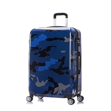 InUSA PRINTS Lightweight Hardside Spinner Luggage, 28